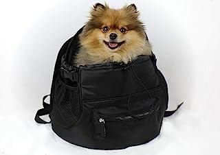 OSKAR&FRIENDS 狗狗背包 适用于小型犬和猫 | 宠物背包| *系绳 | 透气网眼侧面带大口袋 | 小狗旅行包