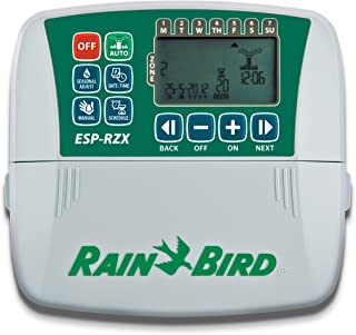 Rain Bird ZRZ004E 灌溉程序,4个区域,适用于室内,奶油色。