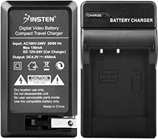 Kastar 电池充电器带车载适配器,适用于 Sony 索尼 BC-CSG 充电器和 Sony 索尼 G 型 NP-BG1 NP-FG1 电池
