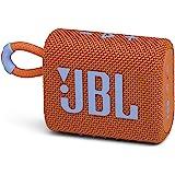 JBL GO3 Bluetooth音箱 USB C充电/IP67防尘防水/搭载无源*器/便携/2020年款 橙色 JBL…