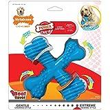 Nylabone Dura Chew X Bone Beef Flavored Dog Chew Toy