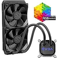 EVGA艾维克 CLC 120 CPU水冷散热器 RGB LED Cooling 400-HY-CL12-V1 280m…