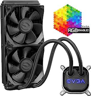 EVGA CLC 240 CPU水冷散热器, RGB LED Cooling 400-HY-CL24-V1