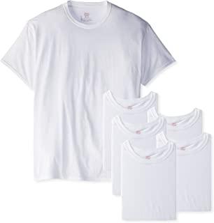 Hanes Men's Crew T-Shirt (Pack of 6)