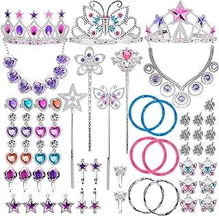 Liberty 进口公主珠宝装饰配饰玩具套装(50 件)