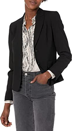 Calvin Klein 卡尔文·克莱恩 女士 双扣Lux西装 标准码
