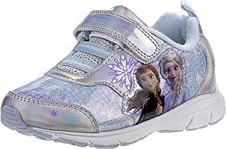Disney 冰雪奇缘 2 女童时尚运动鞋 - Anna and Elsa(幼儿/小童)