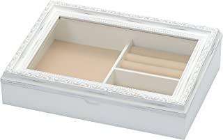 复古风格 小物品收纳 Nouvm 饰品盒 白色 30×7.5×21cm -