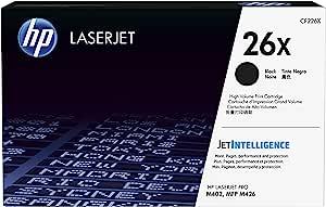 HP 惠普 26X | CF226X | 硒鼓 | 适用于 HP LaserJet Pro M402 系列、M426 系列 | 黑色 | 高产量