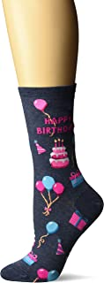 Hot Sox Women's Happy Birthday Sock