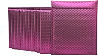 ProLine 哑光金属波尔多红葡萄酒红色气泡填充邮寄袋 10 x 20 cm 自封填充信封 (10)