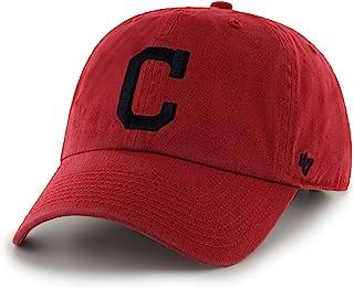 '47 MLB 克利夫兰印*安人队 Clean Up 可调节帽子