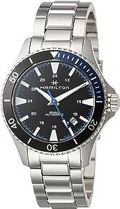 [HAMILTON]HAMILTON 手表 卡其*蓝 机械式自动上弦 H82315131 男士