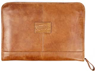Rawlings Leather Deluxe Folio - 棕色