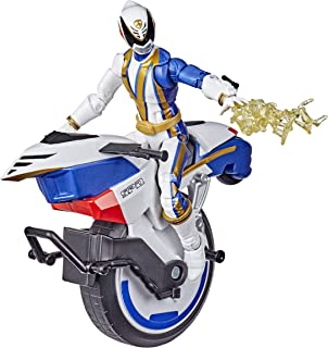 Power Rangers 闪电系列 S.P.D Omega队员和单轮自行车,6英寸可收藏人形玩具(亚马逊独家)