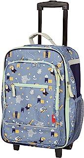 SIGIKID KiGaCOLORI 25155 女童和男孩儿童手推车,带轮子行李箱,适用于假期和远足,52 x 32 x 22 厘米,年龄 3 - 8 岁蓝色