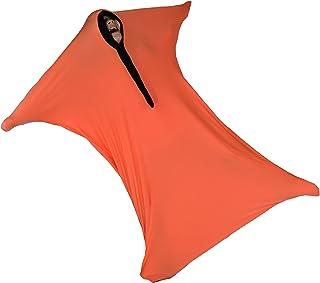 ZZZ 加重毛毯感官袋,感官袜,身体袜 Large (9-13) 橙色