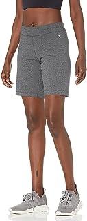 Danskin 女式基本款侧褶百慕大短裤