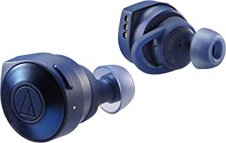 Audio-Technica 铁三角 ATH-CKS5TWBK 固体低音无线入耳式耳机ATH-CKS5TWBL  可调节