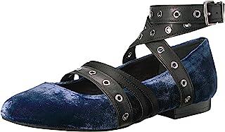 Kenneth Cole New York 女士风芭蕾平底鞋细节天鹅绒
