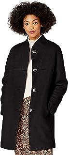 kensie 女式休闲羊毛大衣