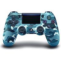 DualShock 4 无线控制器,适用于 PlayStation 4 蓝色迷彩