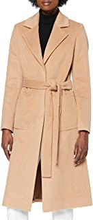 HUGO 女士 Mesua 羊毛混纺大衣