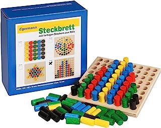Unbekannt Egermann EH221/231 棋盘木制插槽游戏系列 幼儿玩具