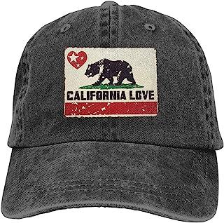 牛仔帽熊加州爱心星星棒球爸爸帽经典可调节休闲运动男女帽