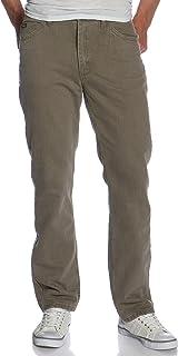 Lee 男式 Relaxed 宽松直筒牛仔裤