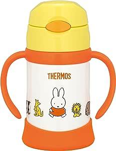 THERMOS 膳魔师 真空保温 宝宝用吸管杯 米菲(黄色) 适合9个月及以上