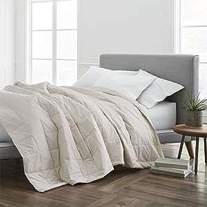 ECO PURE 填充毯子,普通双人床/中号双人床,奶油色