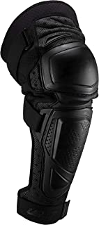 Leatt 护膝和胫骨护套,刚性,由柔软的 3D 泡沫制成,AirFit 防震,硬质涂层,*证书,透气面料