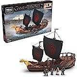 Mega Construx 权利的游戏: Targaryen战舰模型