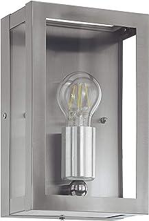 EGLO 94827 E27 不锈钢户外壁灯 ALAMONTE