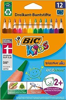 BIC 比克儿童彩色铅笔 Ecolutions Evolution系列 三角型 1 x 12 Stück