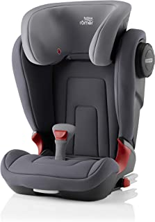 Britax 宝得适 Römer 儿童安全座椅 KIDFIX 2 S Isofix Group 2/3, Storm Grey, 15-36 kg