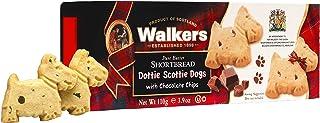 Walkers Shortbread Dottie Scottie苏格兰小狗巧克力碎片小酥饼,3.9盎司/110克