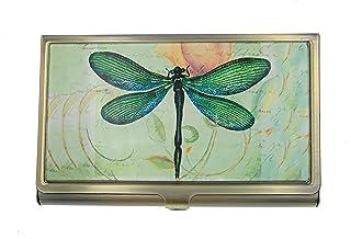 Value Arts *蜻蜓名片盒,黄铜玻璃