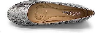 女式圆头芭蕾平底鞋