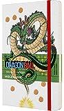 Moleskine 龙珠限量版笔记本 横线纹 龙珠主题 精装/带有主题图片/带有细节修饰,版式13 x 21cm,白色…