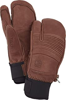 Hestra Leather Fall Line 3-Finger Gloves 棕色 8