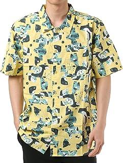 [ELEMENT ] [男士] 短袖 衬衫 (标准)[ AJ021-131 / SHAPES SS SHIRTS ] 全身花纹 时尚