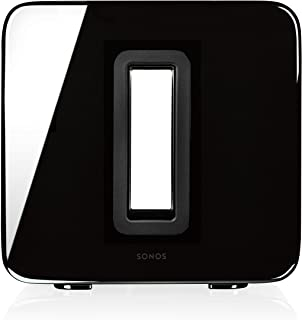 Sonos SUB - 无线低音炮 适用于 Sonos 系统Sonos Sub  亮黑色 38 cm