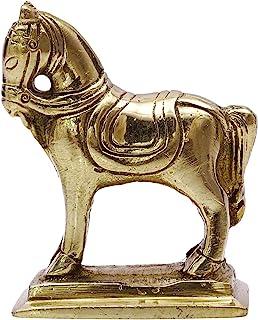 iba,手工制作黄铜金属雕像金马雕塑家居装饰艺术印度 金属金