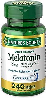 Natures Bounty Melatonin 3 mg