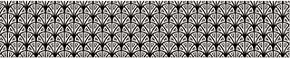 自粘装饰 197111 3 条条条,适用于楼梯,太阳,乙烯基,黑色,19 x 100厘米