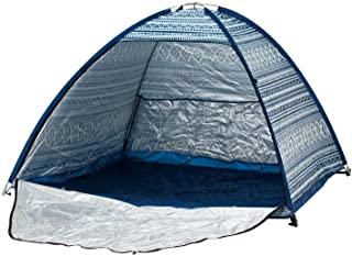 MOLUSKO(MOLUSKO) 慢点 流行 贝壳帽 170 全宽 MS-13 纺织品/*蓝 带收纳袋 遮阳帘 海滩帐 防紫外线