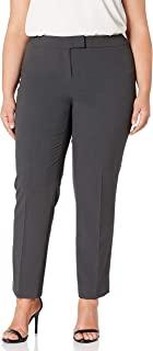 Anne Klein 女士加大码纯色修身长裤