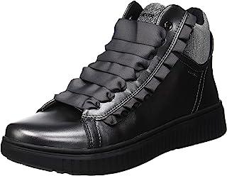 Geox 女童 J Discomix 高帮运动鞋
